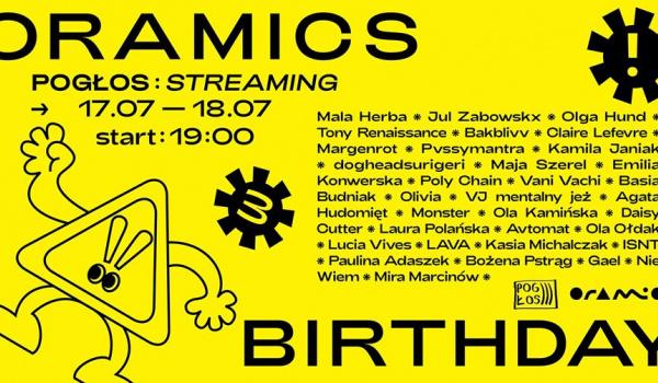 Going. | Pogłos: Oramics 3rd Birthday | Streaming - Online | Pogłos