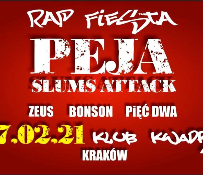 Going. | RAP FIESTA  PEJA/Slums Attack, Zeus, Bonson, Pięć Dwa - Klub Kwadrat