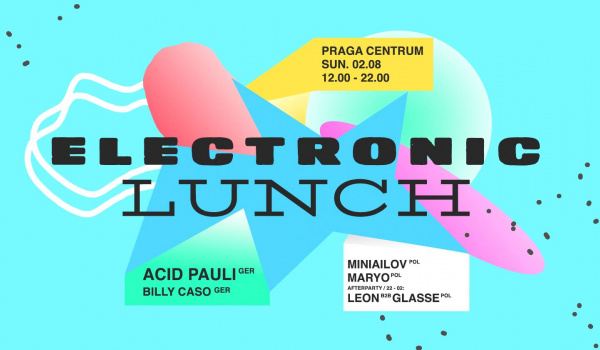 Going. | Electronic Lunch #2 with Acid Pauli - Praga Centrum