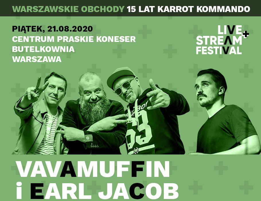 Vavamuffin i Earl Jacob - Live+Stream Festival