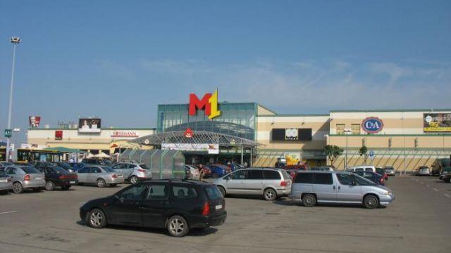 Parking Centrum Handlowego M1