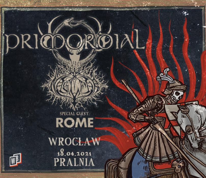 "PRIMORDIAL ""Heathen Crusade"" | Wrocław"