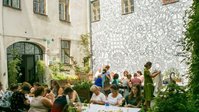 Warsztaty Kultury (patio)