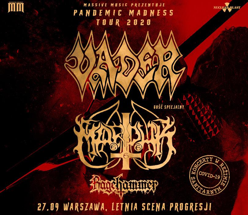 Vader + Marduk + Ragehammer
