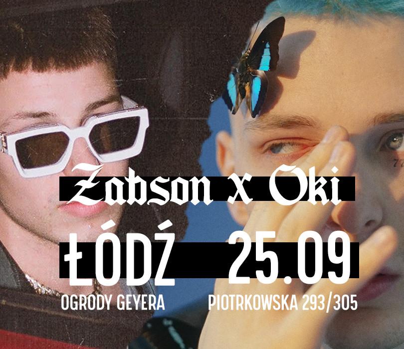 Oki x Żabson w Łodzi