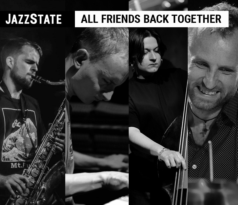 Otwieramy Spatif: ALL FRIEND BACK TOGETHER | Mączyński / Tarwid / Drabek / Szmańda