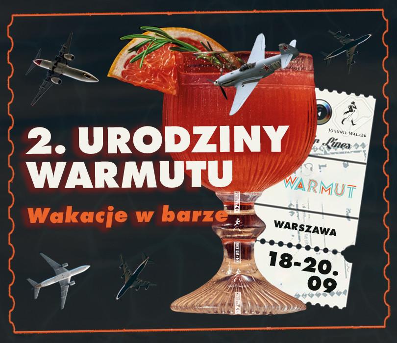 2. URODZINY WARMUTU | Wakacje w barze