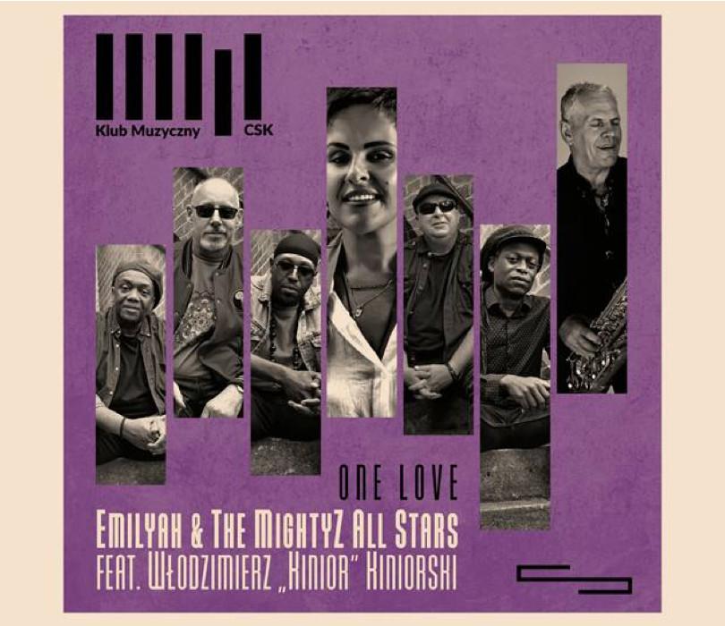 """Jazz w CSK: Emiliyah & The Mightyz All Stars feat. Włodzimierz """"Kinior"""" Kiniorski"""