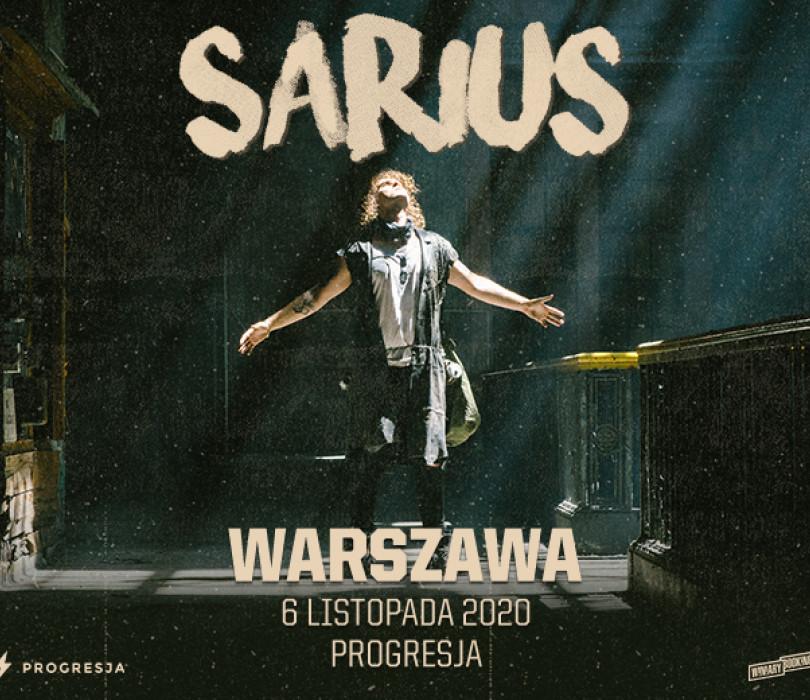 Sarius | Warszawa [ODWOŁANE]