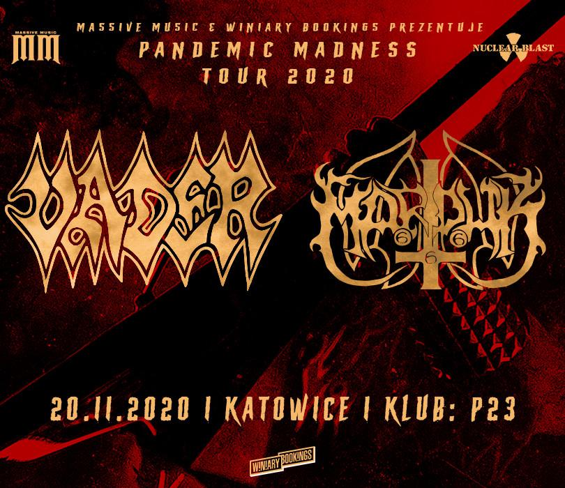Vader + Marduk | Katowice [ODWOŁANE]