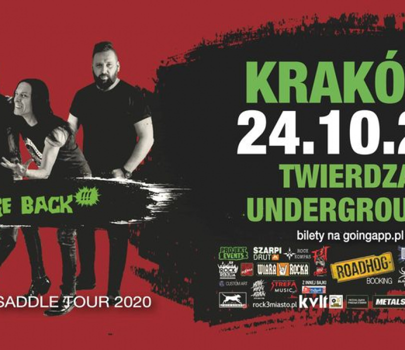 House of Death | Back in the saddle tour | Kraków [ZMIANA DATY]