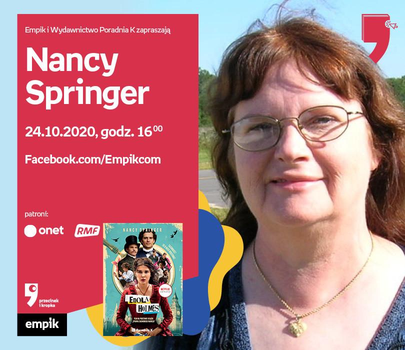 Nancy Springer – Spotkanie | WTK. Przecinek i Kropka