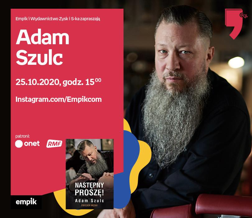 Adam Szulc – Spotkanie | Wirtualne Targi Książki