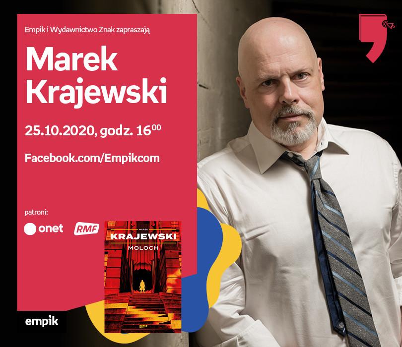 Marek Krajewski – Przedpremiera | Wirtualne Targi Książki