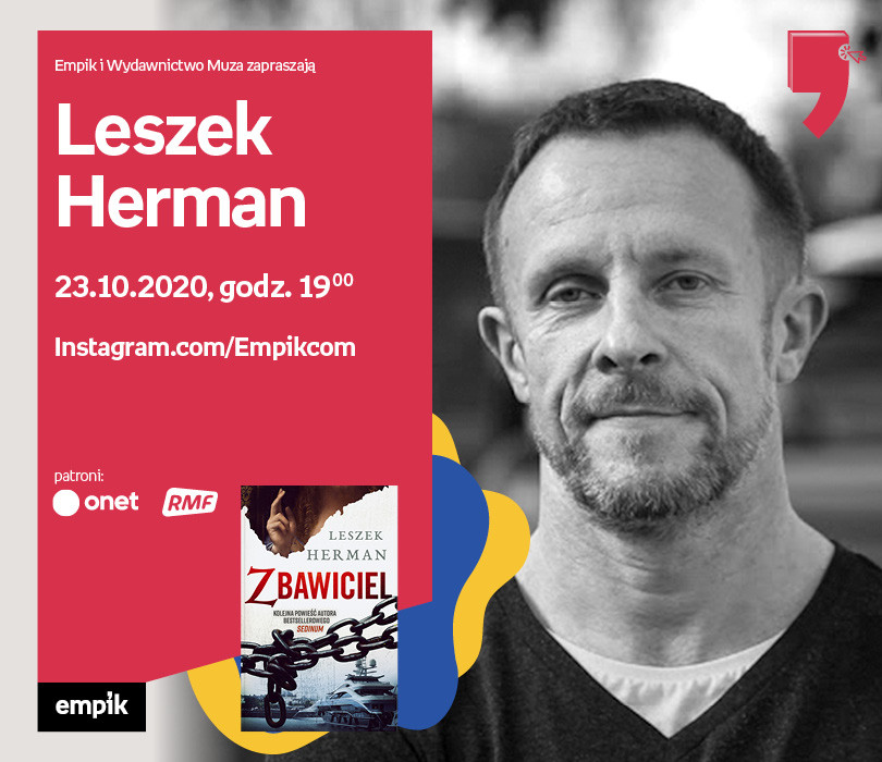 Leszek Herman – Premiera | Wirtualne Targi Książki