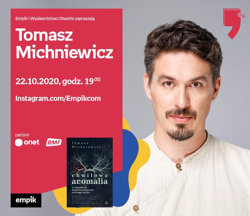 Tomasz Michniewicz – Przedpremiera | Wirtualne Targi Książki