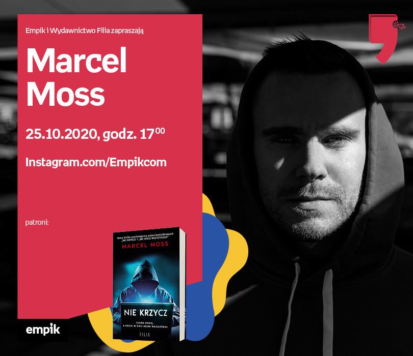 Marcel Moss – Przedpremiera | Wirtualne Targi Książki