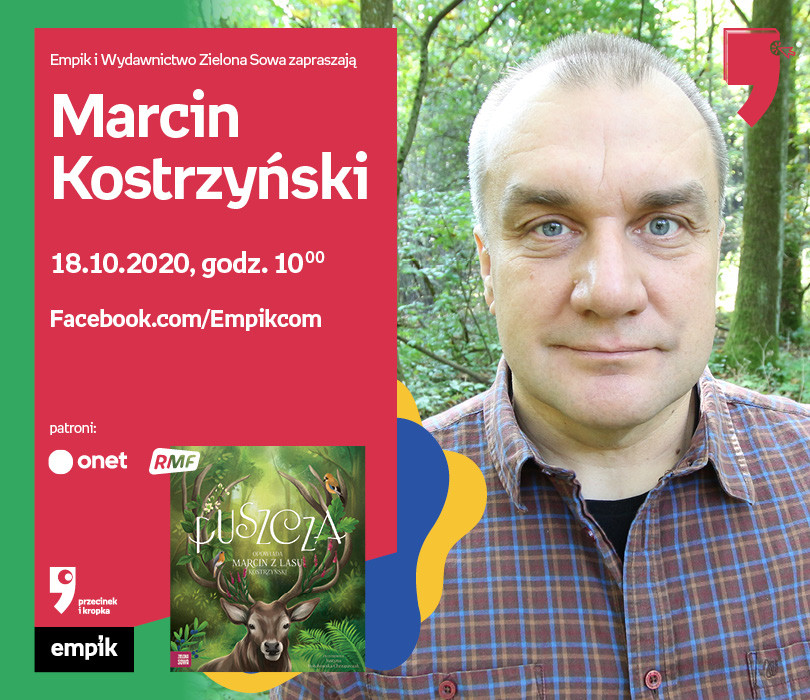 Marcin Kostrzyński – Spotkanie | WTK. Przecinek i Kropka