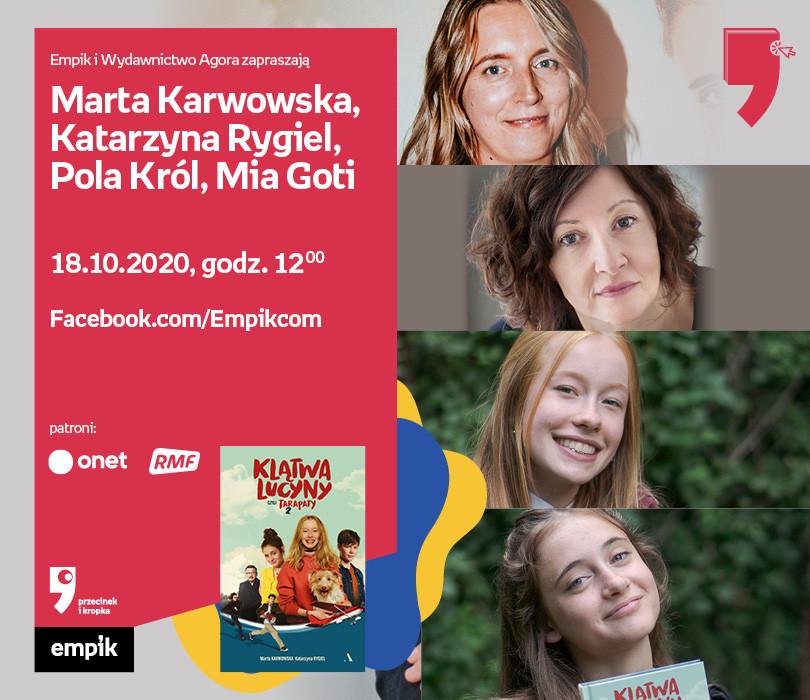 Karwowska, Rygiel, Król, Goti – Spotkanie | WTK. Przecinek i Kropka