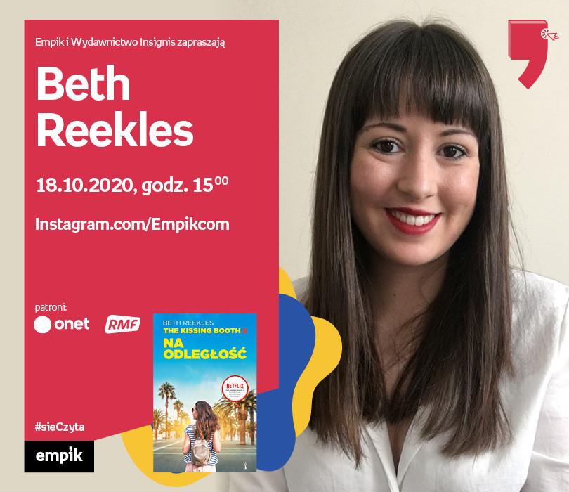 Beth Reekles – Spotkanie | Wirtualne Targi Książki. #sieczyta