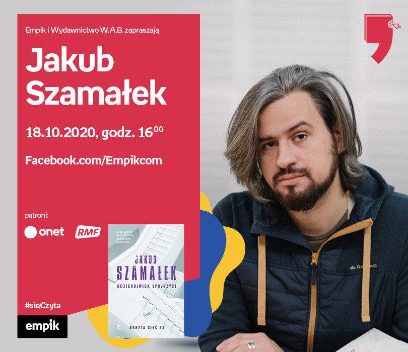 Jakub Szamałek – Premiera | Wirtualne Targi Książki