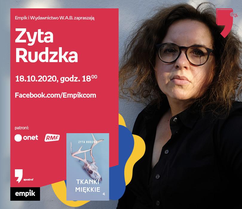 Zyta Rudzka – Premiera   Wirtualne Targi Książki. Apostrof