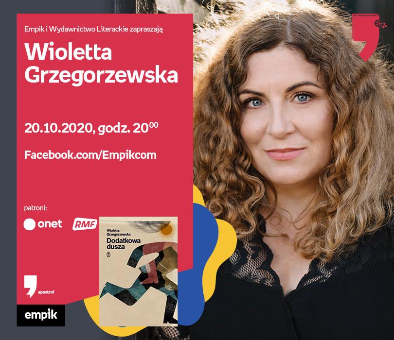 W. Grzegorzewska – Spotkanie | Wirtualne Targi Książki. Apostrof