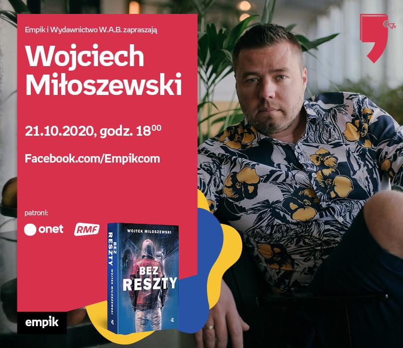 Wojciech Miłoszewski – Spotkanie| Wirtualne Targi Książki