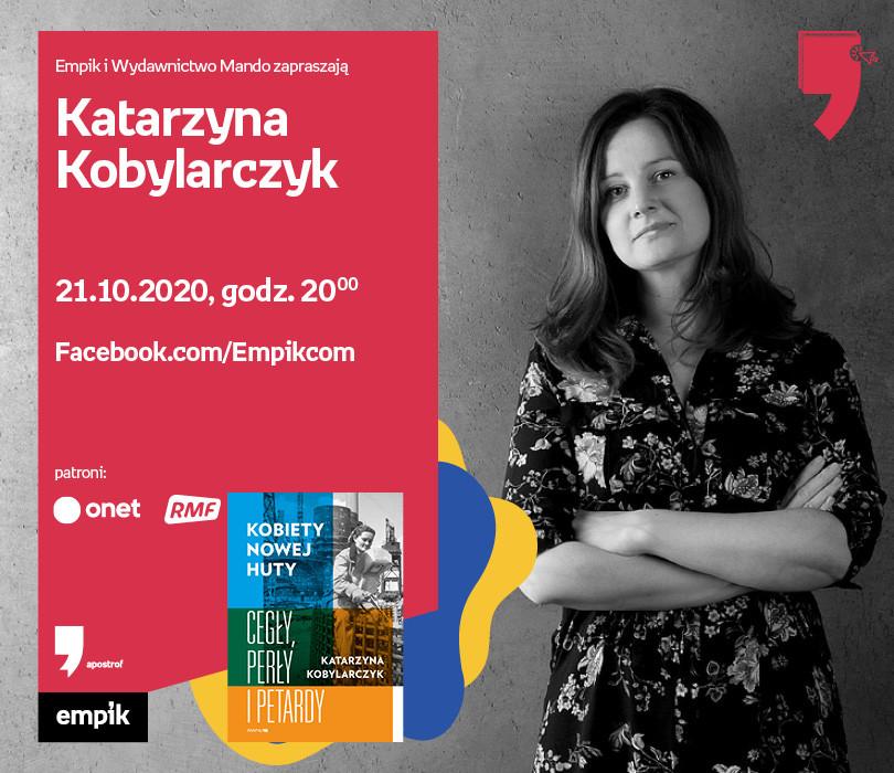 K. Kobylarczyk – Spotkanie | Wirtualne Targi Książki. Apostrof