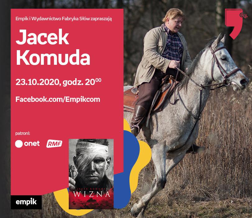 Jacek Komuda – Premiera | Wirtualne Targi Książki