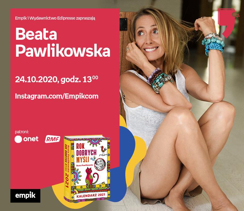 Beata Pawlikowska – Spotkanie | Wirtualne Targi Książki