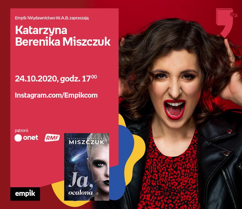 Katarzyna B. Miszczuk – Przedpremiera   Wirtualne Targi Książki