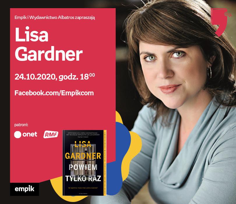 Lisa Gardner – Premiera | Wirtualne Targi Książki