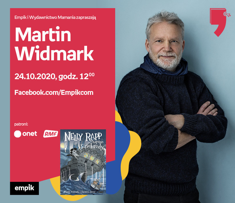Martin Widmark – Spotkanie | WTK. Przecinek i Kropka