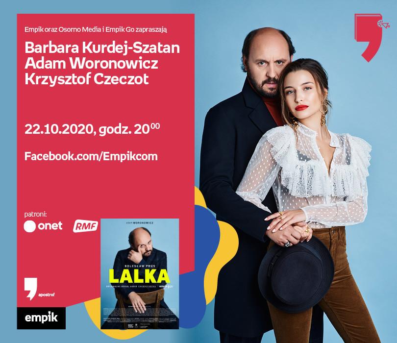 Kurdej-Szatan, Woronowicz, Czeczot – Premiera | WTK. Apostrof