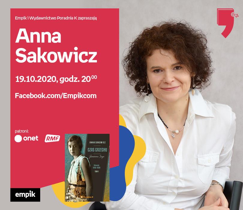 Anna Sakowicz – Spotkanie | Wirtualne Targi Książki