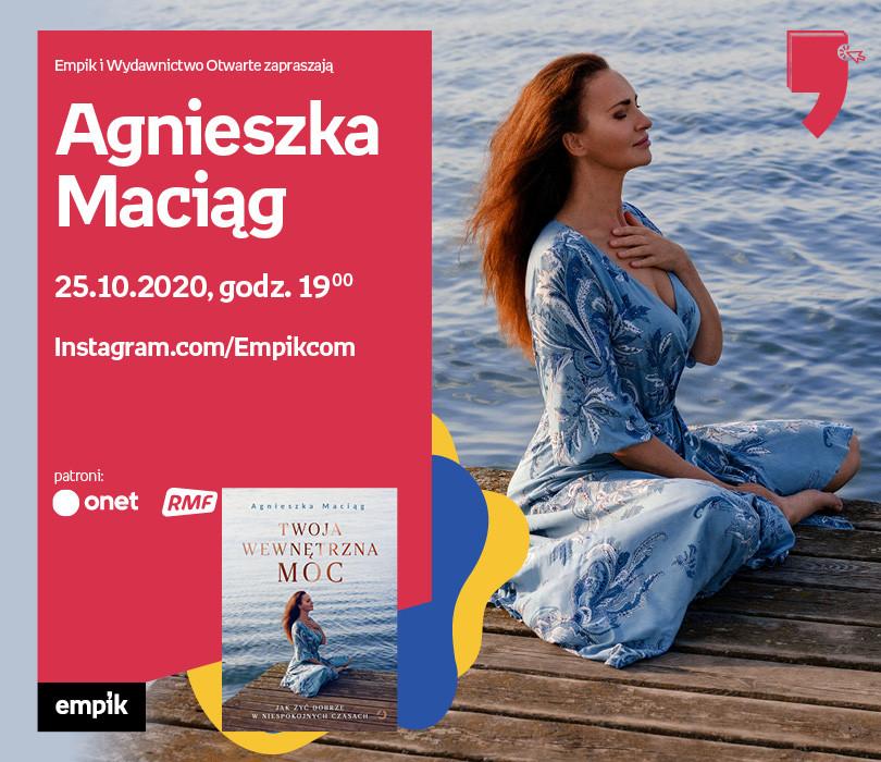 Agnieszka Maciąg – Przedpremiera | Wirtualne Targi Książki