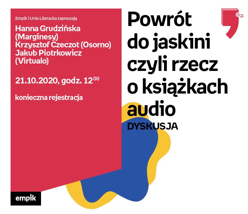 Powrót do jaskini czyli rzecz o książkach audio – Dyskusja | WTK