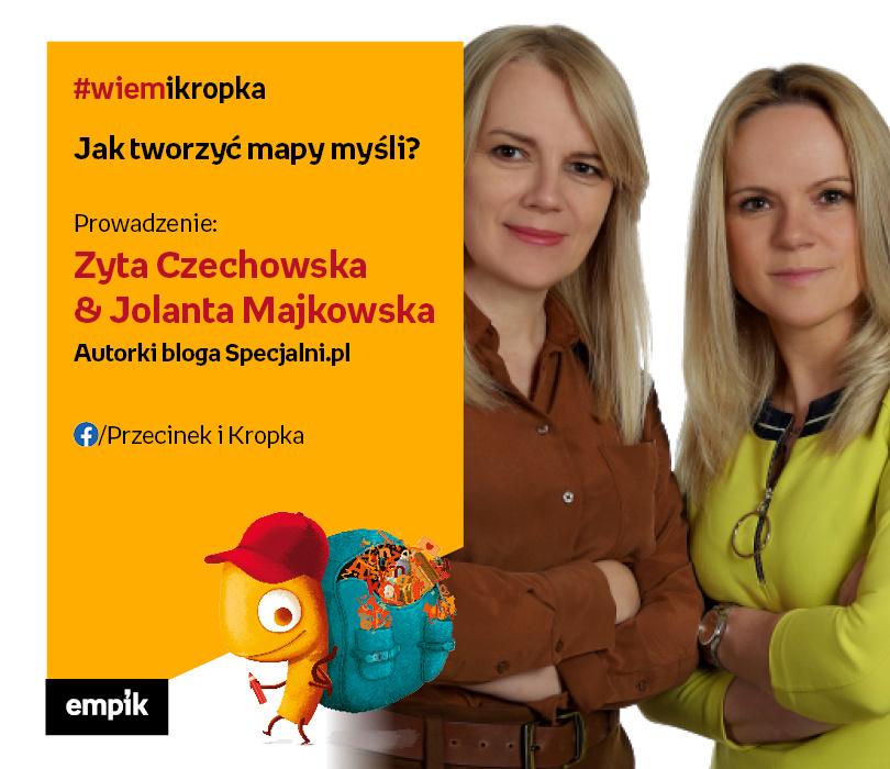 Zyta Czechowska i Jolanta Majkowska | Jak tworzyć mapy myśli?