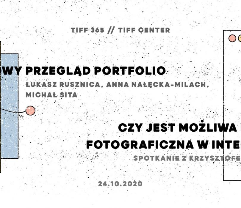 TIFF 365 // Książkowy Przegląd Portfolio i wykład Krzysztofa Pijarskiego