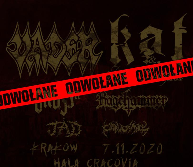 Vader, Kat & Roman Kostrzewski + Gruzja, Ragehammer [ODWOŁANE]