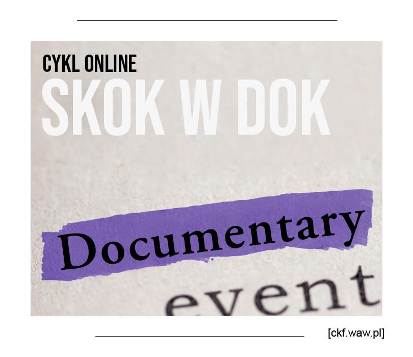 SKOK W DOK. Cykl 6 warsztatów online