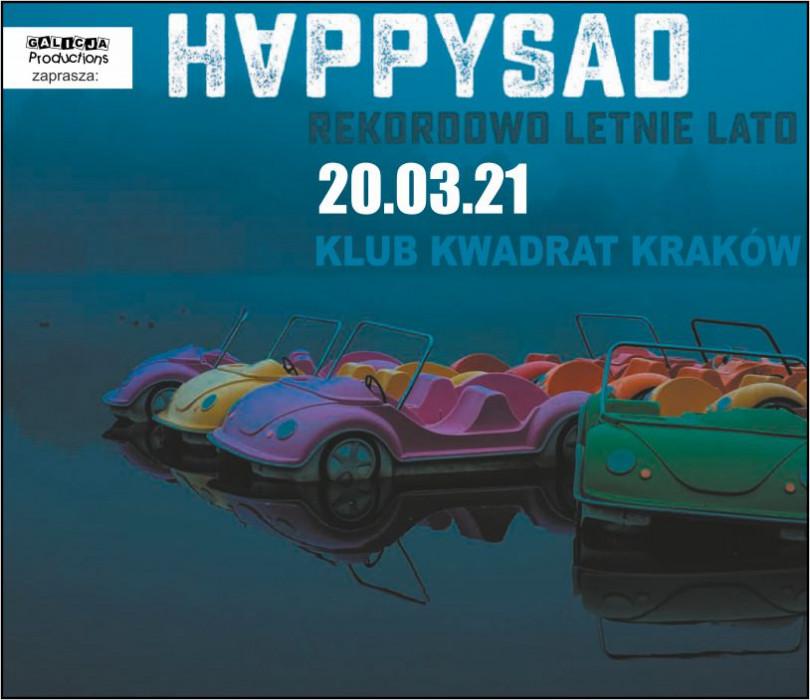 Happysad - Rekordowo Letnie Lato | Kraków [ZMIANA DATY]