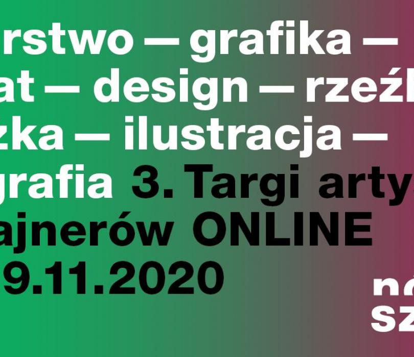 Nówka Sztuka Online! Targi Artystów i Dizajnerów