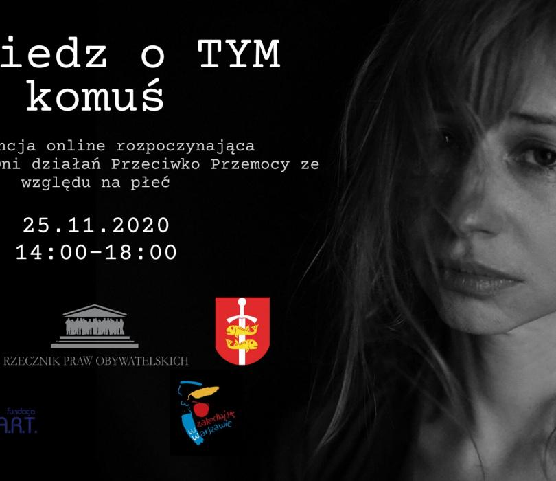 Powiedz o TYM komuś - konferencja online