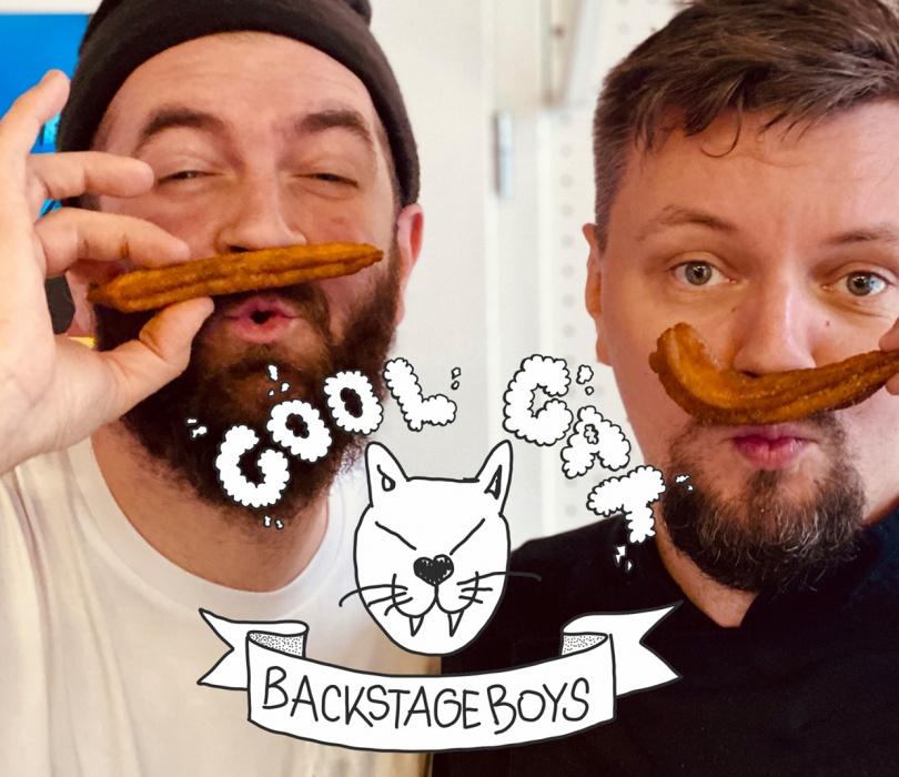 Cool Cat Backstage Boys: churros!
