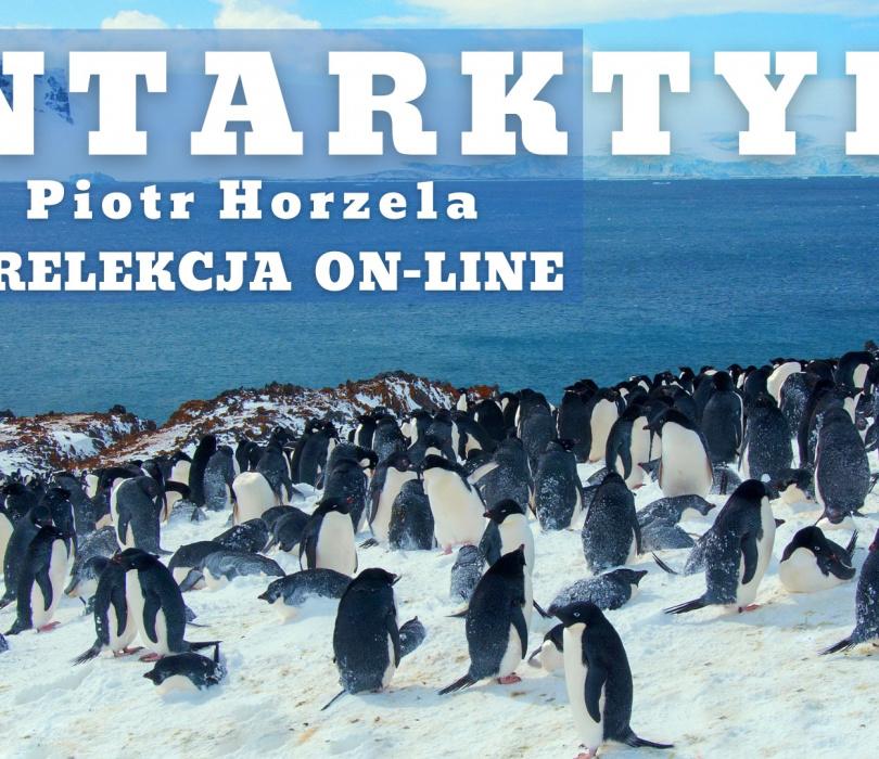 Antarktyka / prelekcja on-line / Piotr Horzela