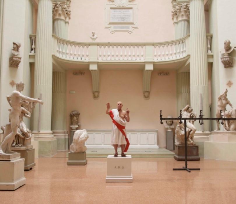 """Juliusz Cezar. Części rozproszone"" – Romeo Castelucci | FESTIWAL NOWA EUROPA ONLINE"