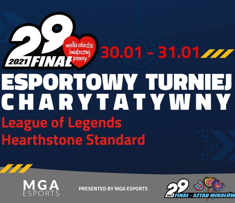 Esportowy Turniej Charytatywny WOŚP Mikołów