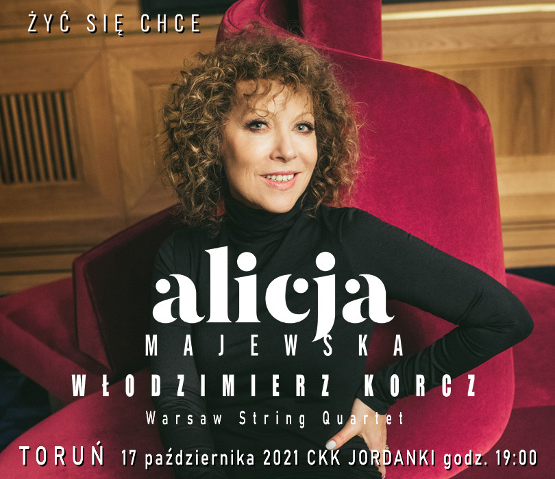 Alicja Majewska, Włodzimierz Korcz i Warsaw String Quartet [ZMIANA DATY]